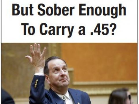 Too Drunk to Drive, But Sober Enough to Carry a .45?